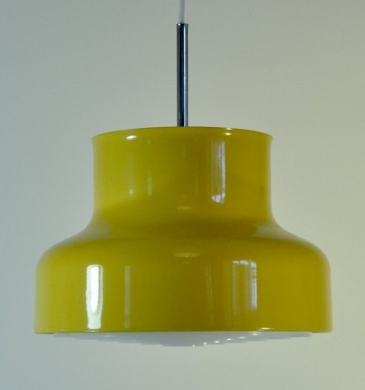 Bumling hanging lamp by Anders Pherson for Ateljé Lyktan, 1960s