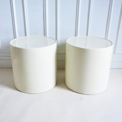Pair of Giano Giano Vano side tables by Emma Gismondi Schweinberger for Artemide, 1960s