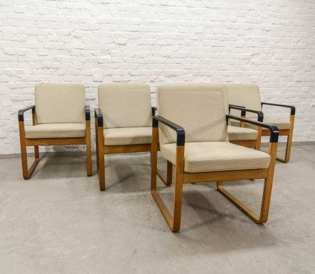 Danish Beech Wood Dining Chairs by Magnus Olesen for Durup – Set of 5