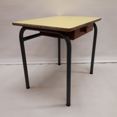 Vintage Children's writing desk with drawer, 1960s