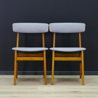 Pair of Farstrup Møbler dining chairs, 1960s