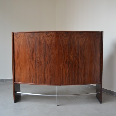 Rosewood bar cabinet by Dyrlund