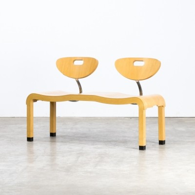 Ruud Jan Kokke 'moment' double seat bench for Kembo