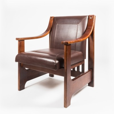 2 x Zbyněk Hřivnáč lounge chair, 1980s