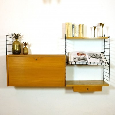 Wall unit by Nisse Strinning & Kajsa Strinning, 1960s