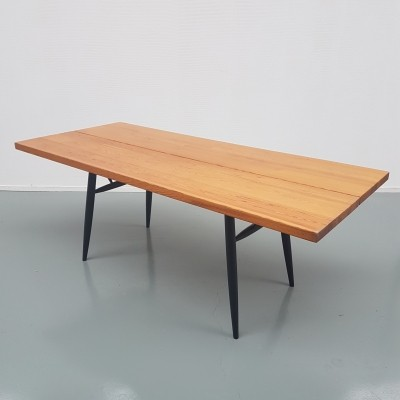 Ilmari Tapiovaara for Laukaan Puu Large Pirkka dining table, 1950s