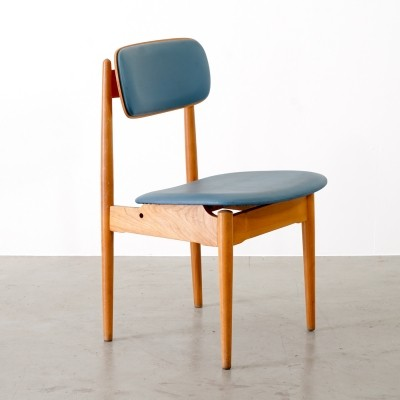 Set of 4 dinner chair by Fritz Emme Möbelfabrikation Bad Pyrmont, Germany