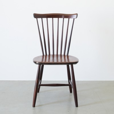Set of 6 Nassjo Stolfabrik Sweden dining chairs, 1960s