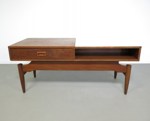 Coffee table by Louis van Teeffelen for Wébé, 1960s