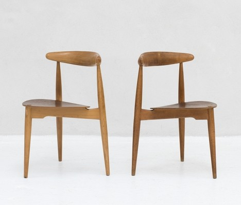 'FH4103' Dining chairs by Hans Wegner for Fritz Hansen & Raymor