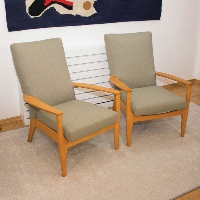 British model PK988/1023 armchairs from Parker Knoll, 1960s