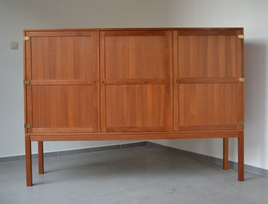 Highboard cabinet by Harry Ostergaard for Randers Mobelfabrik, 1950s