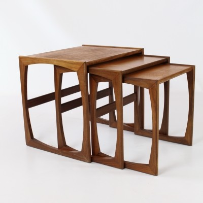 G Plan nesting table, 1960s