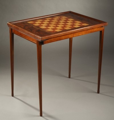 Scandinavian game table from the fifties