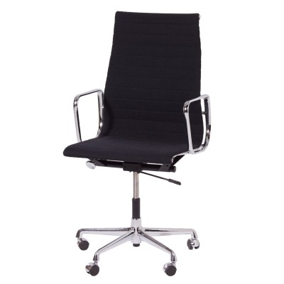 Black 'EA 119' Office Chair by Charles & Ray Eames for Vitra, 1980s