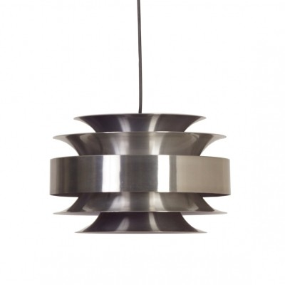 Aluminium Vintage Hanging Lamp from Lakro, 1960s