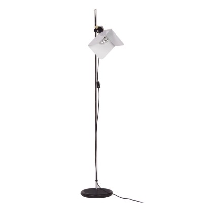 Triedro Floor Lamp by Joe Colombo for Stilnovo, 1970s - White
