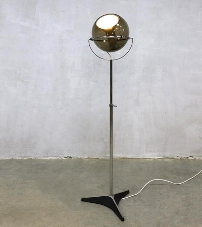 Floor Lamp By Frank Ligtelijn For Raak Amsterdam, 1960s
