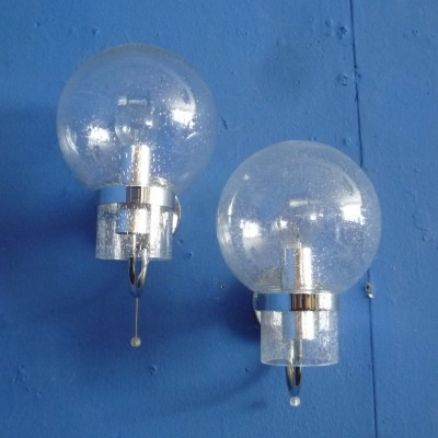 Pair of Wall lamps from Limburg, 1960s
