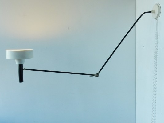 Model 190 B ceiling or wall lamp by Willem Hagoort, 1950s