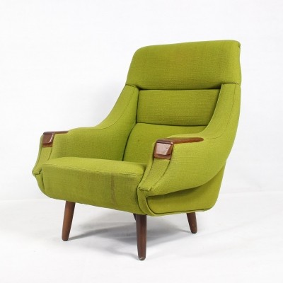 Danish Vintage Rosewood Armchair by H.W. Klein