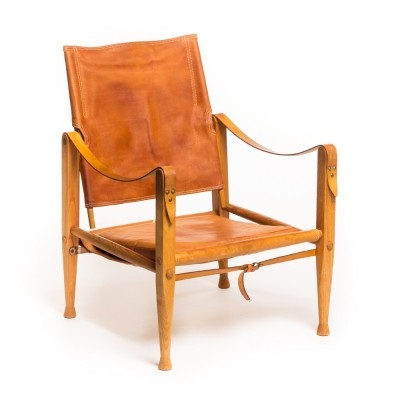 Safari lounge chair by Kaare Klint for Rud. Rasmussen, 1950s
