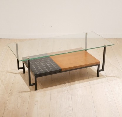 Coffee table by Georges Frydman for EFA, 1950s