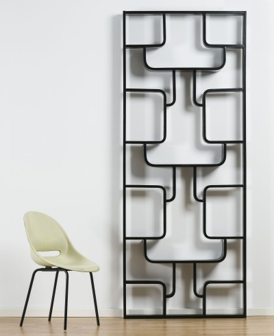 Room divider / Book shelf by Ludvik Vola, 1960s