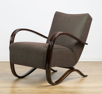 H-269 Lounge Chair by Jindřich Halabala, 1930's