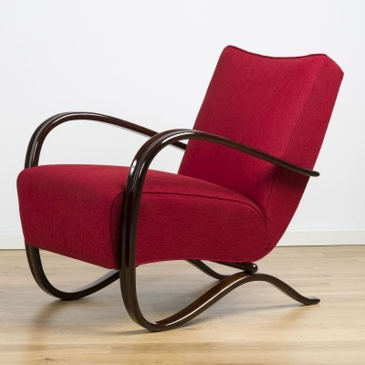 H-269 loungechair by Jindrich Halabala, 1930's