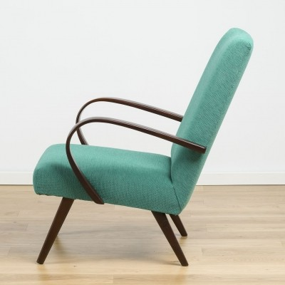 Type 53 arm chair by Jaroslav Smídek for Ton, 1950s