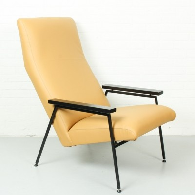 Rob Parry lounge chair in leather for Gelderland, 1960s