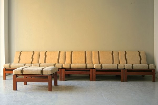 Seating group by Arne Wahl Iversen for Komfort, 1960s