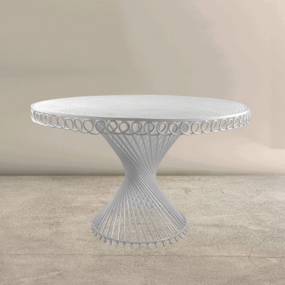Iconic outdoor 'Antheor' Table by the artist Mathieu Matégot