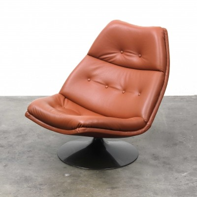 F591 lounge chair by Geoffrey Harcourt for Artifort, 1960s