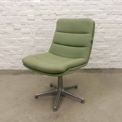 Mid-Century Mint Green Desk Chair by Geoffrey Harcourt for Artifort, 1960s