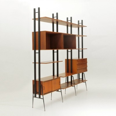 Fraber Mobili wall unit, 1950s