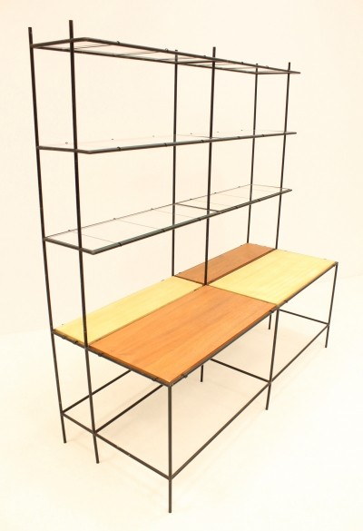 Abstracta wall unit by Poul Cadovius, 1960s