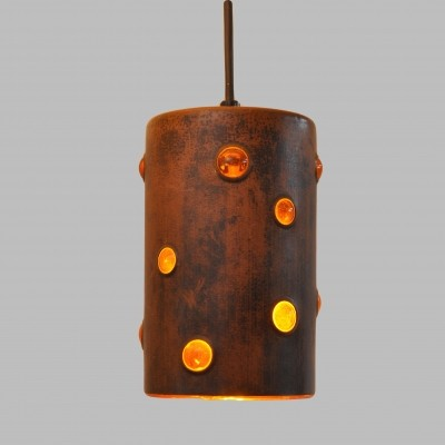 6 x hanging lamp by Nanny Still for Raak Amsterdam, 1970s