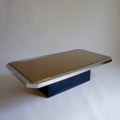 Mirrored Coffee Table, 1970s