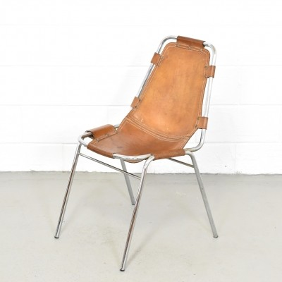 Les Arcs dinner chair by Charlotte Perriand, 1960s