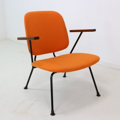 Four W.H. Gispen for Kembo Armchairs, 1950s
