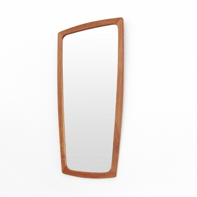 Teak danish design mirror by Pedersen & Hansen