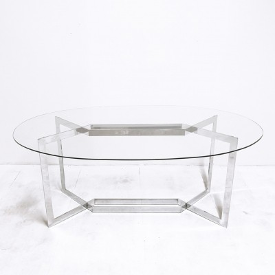 Dialogue dining table by Paul Légéard for DOM, 1970s