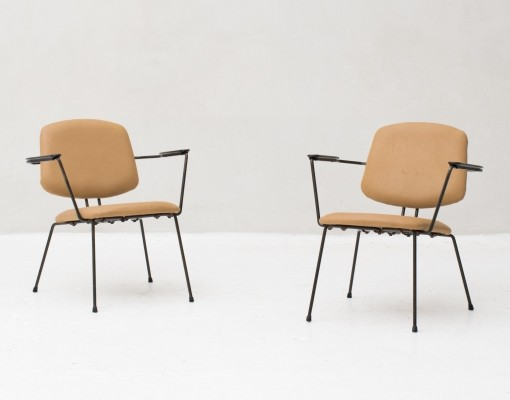 Easy chairs by Rudolf Wolf for Elsrijk, Dutch design 1950