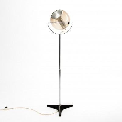 Globe floor lamp by Frank Ligtelijn for Raak Amsterdam, 1970s