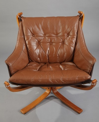 Falcon arm chair by Sigurd Ressell for Vatne Møbler, 1980s