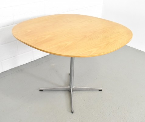 A603 Super-circular dining table by Piet Hein & Bruno Mathsson for Fritz Hansen, 1970s