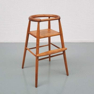 Early Nanna Ditzel Children Chair for Kold Savvaerk, Denmark 1955s