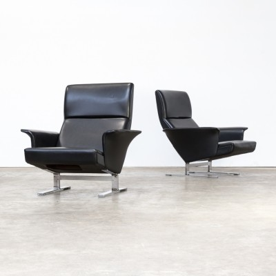 Pair of Georg Thams lounge chairs for Vejen Polstermobelfabrik A/S, 1970s